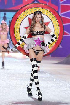 Karlie Kloss at VS fashion show 12