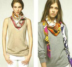 Hermes+Silk+Scarf | Och kolla liksom hur användbar den är!