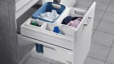Laundry Pull Out System Suits - Or Hailo Pull Out Laundry Container Set - Units. Widths, Height X Depth Hailo Laundry Bin Carrier. Available in various widths, to suit the external cabinet size of 500 or and suits material thicknesses of or