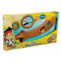 $14.97Fisher-Price Disney's Jake and The Never Land Pirates - Jake's Magical Sword