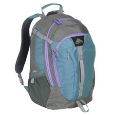Kelty Women's Deora Daypack.  $64.95            The Kelty Deora daypack is a women�s-specific pack for commuters and students who want a multi-function pack that transitions easily from school and work to weekends on the trail.  Features:  Panel loading 420-denier polyester Dobby body fabric 420-denier polyester Oxford ...