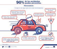Verifica tu auto y sigue estas recomendaciones al conducir en carretera. www.axa.mx #PrevencionVial
