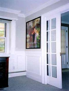 French doors for the office doors bathroom barn door and house excellent pocket doors with crown molding planetlyrics Gallery