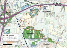 slagmaatpad, 7 km, Fort Vechten en Nieuw Wulven