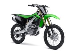 2013 Kawasaki KX250F KX 450F Engine Oil: SAE 10W-40 Synthetic Motorcycle Oil (MCFQT), AMSOIL Quickshot (AQS), AMSOIL Gasoline Stabilizer (AST) Share this photo! #AMSOIL #AMA #motorcycle #MX