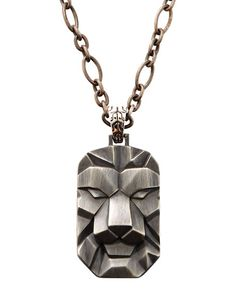 John Hardy Mens Lion Dog Tag NK – Mens chain necklace - The. Informations About John Hardy Mens Li Mens Chain Necklace, Diy Necklace, Pendant Necklace, Mens Diamond Stud Earrings, 2 Logo, Viking Jewelry, Chains For Men, Jewelry Design, Unique Jewelry