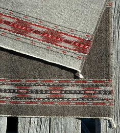 3/1 Double-Faced Weave Saddle Blanket   Syne Mitchell