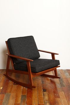 MCM-inspired Rocker Chair from Urban Outfitters