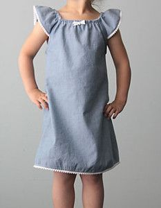 A DIY dress for girls doesn't have to be pink and princess-y. This Flutter Sleeves Dress for Girls tutorial will help you learn how to make a dress that is simple and adorable without being overly sweet.
