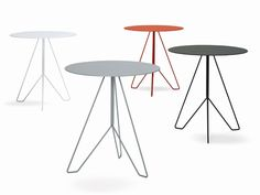 Marocchino - Designer Outdoor tables by YDF ✓ Comprehensive product & design information ✓ Catalogs ➜ Get inspired now Furniture Projects, Furniture Making, Outdoor Furniture, Outdoor Tables, Steel Furniture, Sofa Chair, Sofa Design, Console Table, Designer