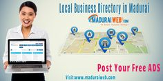 Madurai Web is a prime new Online Local Business Directory website in Madurai, offering a wide range of local business information in and around Madurai city.