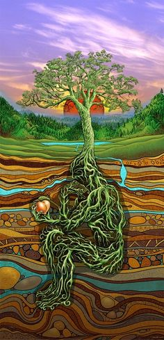 The forest spirit is the one how help us to find our own roots to the Earth Mother and our own way to reach Father Sky. He teach us the way to align our energy to the flow of life and to start to grow...