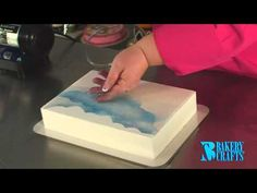 Fun with the Cake Decorating Airbrush - YouTube