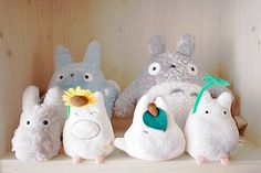 I have the big totoro and im suppose to be getting the blue one soon...but i want them all!!!