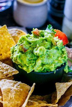 GUACAMOLE Recipe Simple BEST Avocado Dip!