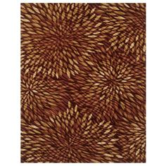 Shaw Rugs Centre Street Fling Red Rug