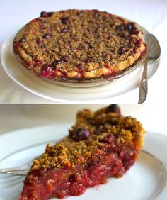 Fig and Almond Cream Galette: 10 Fall Pies - mom. Pie Recipes, Baking Recipes, Cranberry Orange Pie Recipe, Pumpkin Cream Pie, Cornmeal Recipes, Cream Pies, Almond Cream, Streusel Topping, Pastries