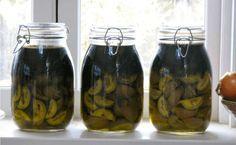 Heilmittel mit Honig und Nüssen für eine gesunde Schilddruese