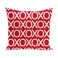 e by design Valentine's Day Outdoor Throw Pillow | AllModern