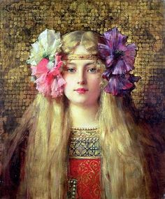 Famous Oil Paintings of Women | PaintingAll Art Gallery