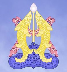 Two Fish- auspicious Budhist symbol
