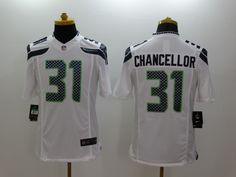 Nike Seattle Seahawks 31 Kam Chancellor Limited White Jersey 6c844ff96