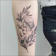 Motherhood Tattoos - 50 Magnificent Designs and Ideas For Mothers