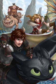 Dragon Race by imDRUNKonTEA.deviantart.com on @deviantART