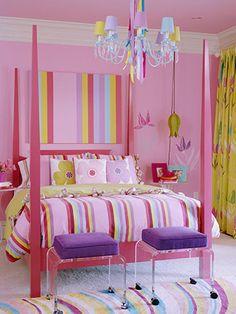 Technicolor Bedroom