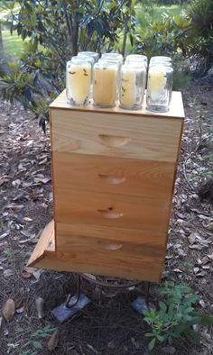 Honey in a Mason Jar