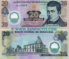 20 lempiras own. Trinidad, Honduras Food, Money Template, The Color Of Money, History Of Philosophy, Money Worksheets, Rich Money, Training Day, Central America