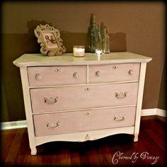Shabby Chic My Dresser Baby Pink For Emmy