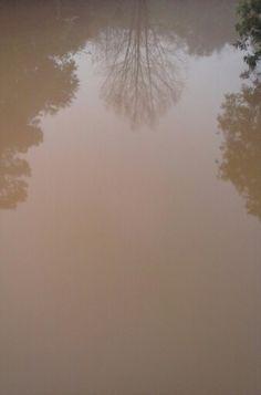 reflexo agua barro