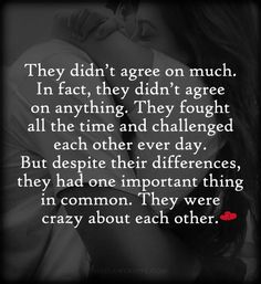 They were crazy about each other. ~ Nicholas Sparks love quotes