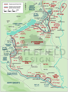 6th SS Panzer Army actions in Hungary, 1945