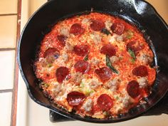 Use Your Cast Iron Pan and a Tortilla to Make World Class Bar-Style Pizza in Under 12 Minutes. ☀CQ appetizers  football
