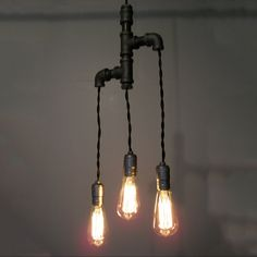 Lamp industrial chic