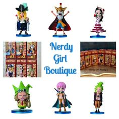 ONE PIECE WCF World Collectible Figures Dressrosa Complete 6 pc set Anime Gift #Banpresto