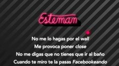 Esteman - No te metas a mi FB (karaoke)