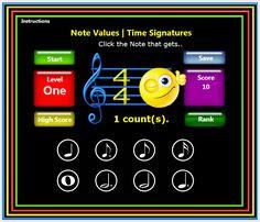 Musical Symbols   Music Teacher's Games