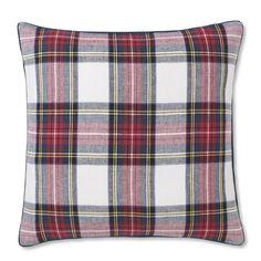 Classic Stewart Tartan Pillow Cover | Williams-Sonoma