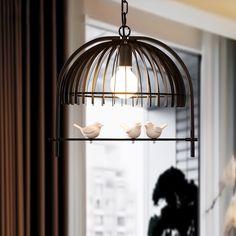 Cheetrhuzz  New European Iron Birdcage Chandelier White Black Suspension Lamp  https://www.aliexpress.com/store/product/New-European-Iron-Birdcage-Chandelier-Light-Fixture-Modern-Single-Head-White-Black-Suspension-Lamp-For-Bar/1248587_32781480416.html?spm=2114.12010608.0.0.qAkIdP