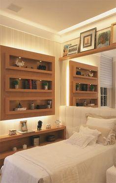 Dormitorios: Fotos de dormitorios Imágenes de habitaciones y recámaras, Diseño y Decoración: IDEAS PARA DORMITORIOS PEQUEÑOS