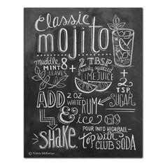 Mojito Recipe (Print) - Lily & Val