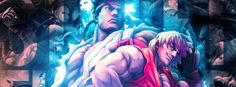Street fighter team facebook cover