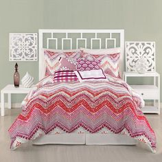 Trina Turk: Chevron Comforter King Set, at 50% off!