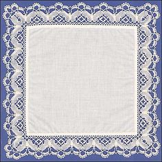 Jean Leader: Lacemaker and Textile Enthusiast. This is the handkerchief that won a first prize in the Handcrafts section at the Royal Highland Show in (pattern at site) Needle Tatting, Needle Lace, Bobbin Lacemaking, Bobbin Lace Patterns, Linens And Lace, Lace Making, Crafts To Do, Vintage Lace, Weaving