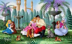 Deviantart Disney, Disney Princesses And Princes, Disney Princess Art, Princess Movies, Sailor Princess, Walt Disney, Disney Magic, Disney Artwork, Disney Fan Art