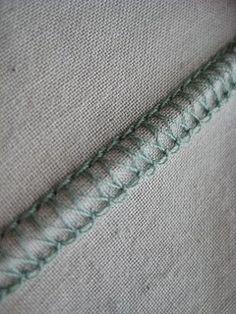 Flatlock topstitching tutorial - on your serger / overlocker. From: http://www.sewastraightline.com/2010/02/serger-saturday-flatlock-stitching.html