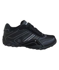 Another great find on #zulily! Black Classic Sneaker #zulilyfinds